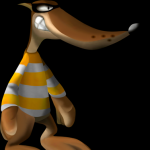 Ali AKI Mr. Yellow from Conker's Bad Fur Day