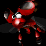 Bazza the Dung Beetle Conker's Bad Fur Day