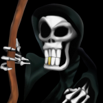 Gregg the Grim Reaper from Conker's Bad Fur Day