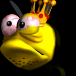 Mr. King Bee from Conker's Bad Fur Day