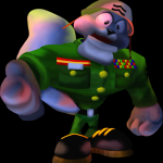 The Corporal from Conker's Bad Fur Day