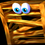 Woodrow the Wooden Crate from Conker's Bad Fur Day