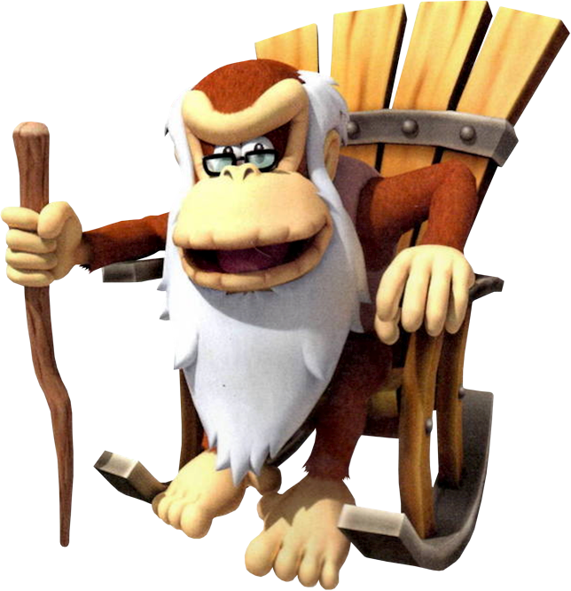 DK Vine: Cranky Kong's Biography