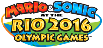 Mario and Sonic at the Rio 2016 Olympic Games logo (click to enlarge)