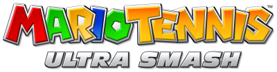 Mario Tennis: Ultra Smash logo (click to enlarge)